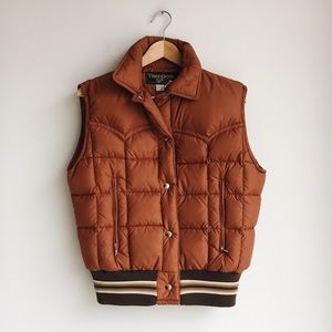 Vintage Tempco Goose Down Puffer Vest